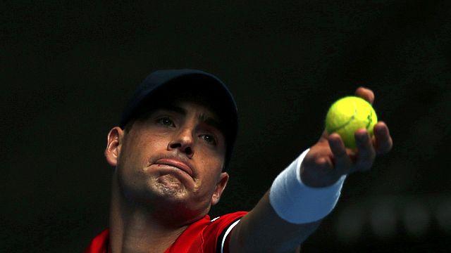 Tenis: Isner'den Rio'ya ilk turda veda