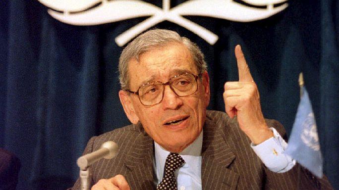الموت يغيب الامين العام السابق للامم المتحدة بطرس غالي