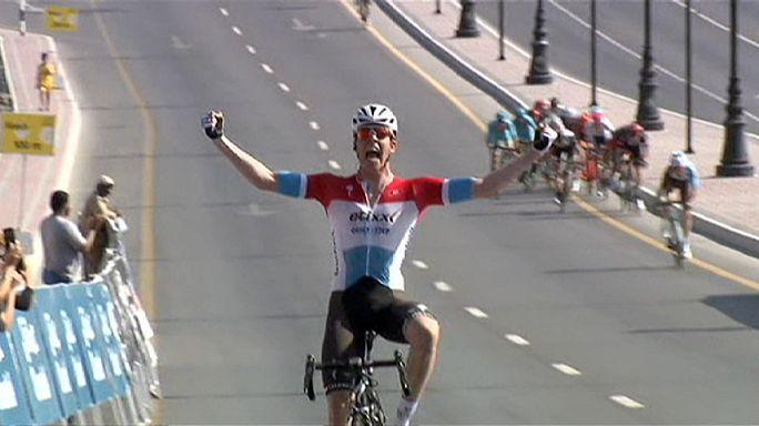 بوب جانغلز يفوز بطواف عمان للدراجات الهوائية