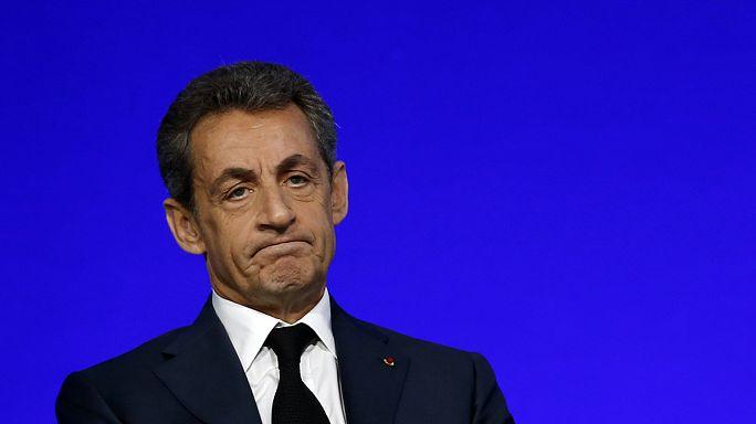 Sarkozy mali şube savcılarına ifade verdi