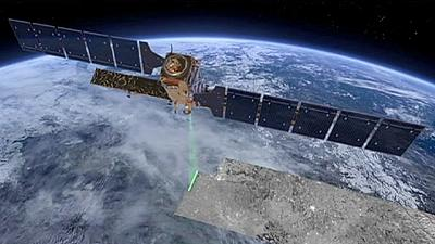 Sentinel-3A en orbite terrestre