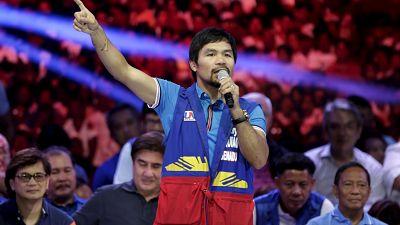 Rétropédalage de Manny Pacquiao sur les LGBT
