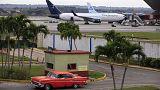 Cuba e os Estados Unidos retomam voos comerciais