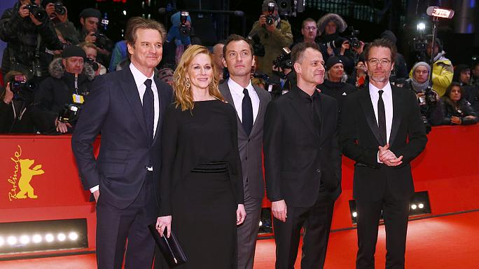 Genius : Colin Firth et Jude Law réunis sur le tapis rouge de la Berlinale
