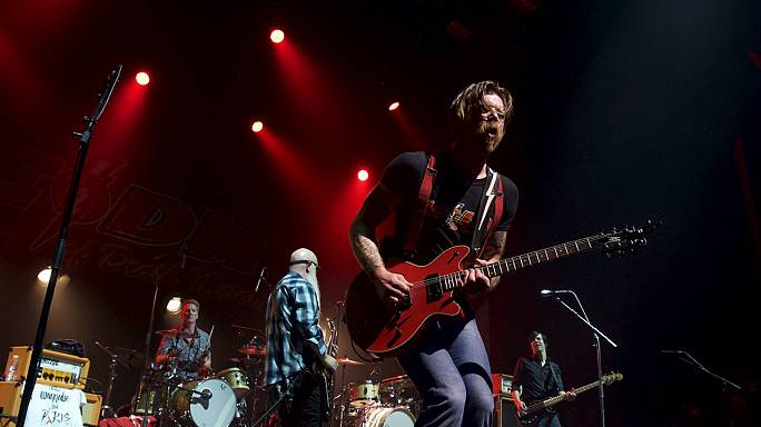 Eagles of Death Metal 'finish' gig cut short by Bataclan massacre