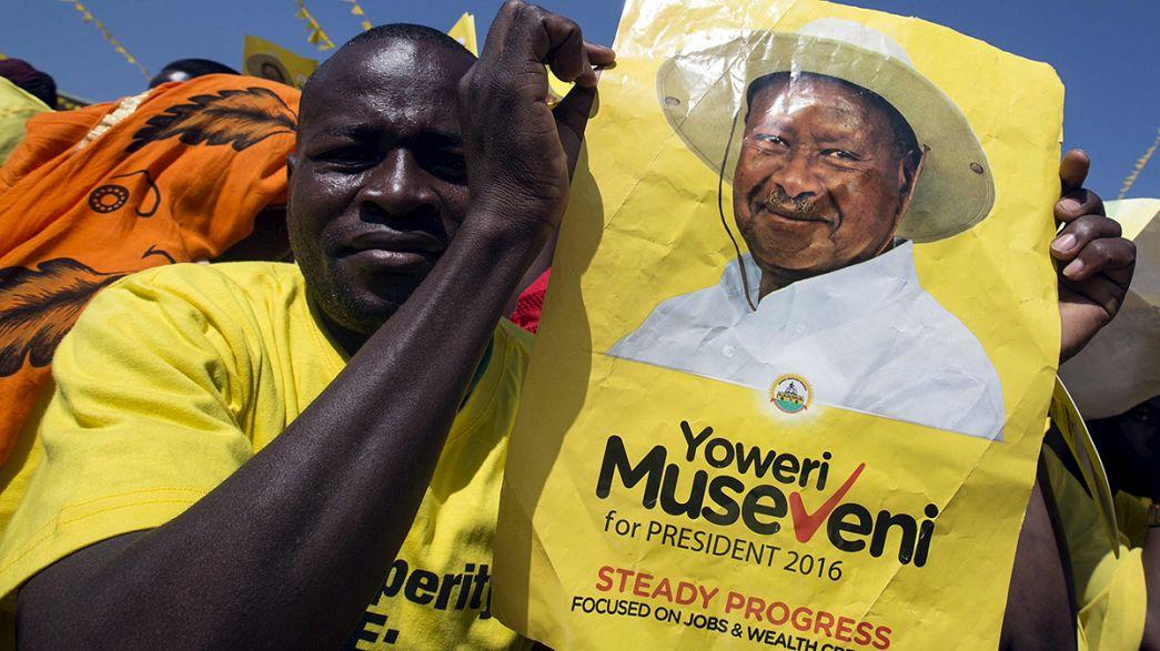 Uganda'da yapılacak kritik seçimlerde gerginlik hakim