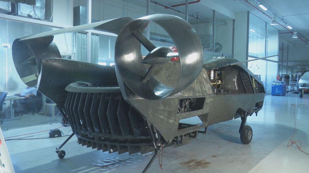 AirMule, un dron gigante para transportar víveres y personas