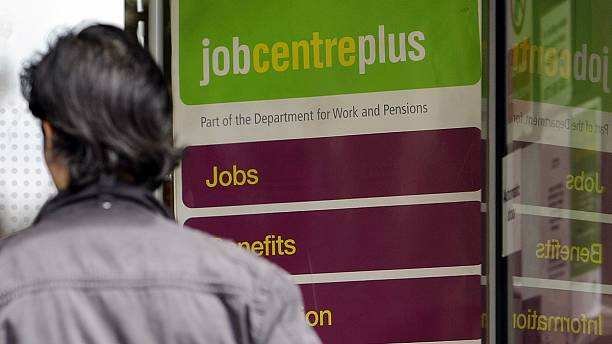 UK jobless rate unchanged, wage growth slows