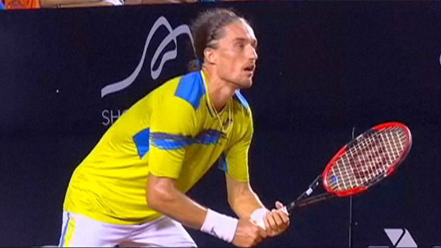 Alexandr Dolgopolov brilha no Open do Rio