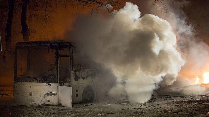 Мощный взрыв в центре Анкары: есть жертвы