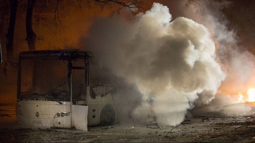 Car bomb targeting military buses kills 28 in Turkish capital Ankara