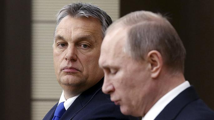 Putin and Orban talk migrants, EU relations and gas in Moscow