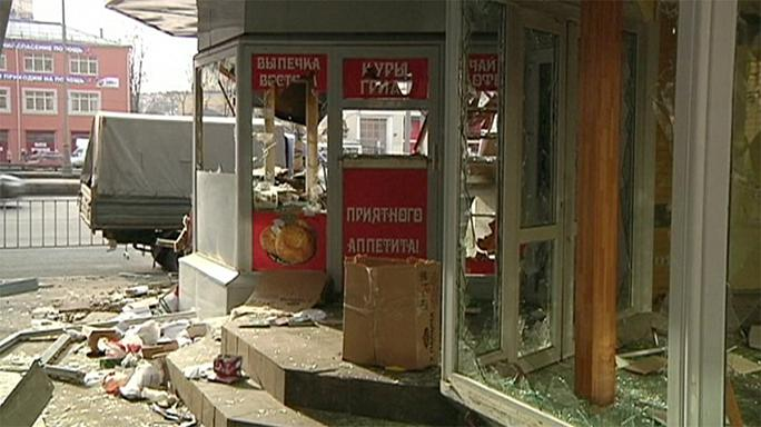 صدها دکه و دکان در مسکو با بلدوزور تخریب شد