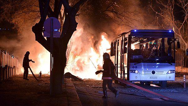Halálos robbantásos merénylet Ankarában