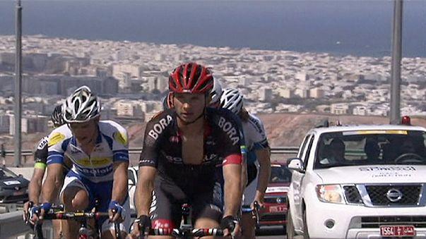 Victoria de etapa y liderato para Edvald Boasson Hagen en el Tour de Omán