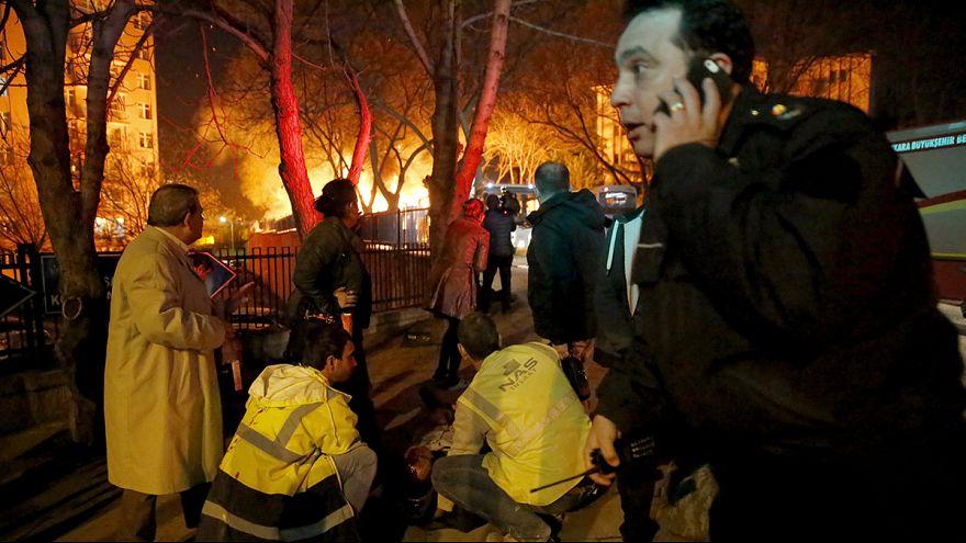 Очевидец взрыва: в Анкаре началась паника