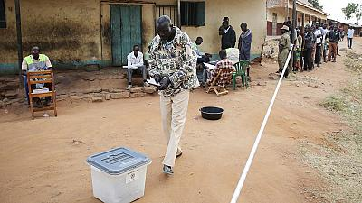 Social media blocked as Ugandans vote in presidential election