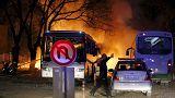 مقتل عسكريين اتراك في تفجير بديار بكر وأوغلو يتهم حزب الاتحاد الديمقراطي الكردي بالوقوف وراء تفجير انقرة