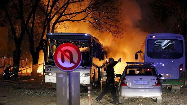 Davutoğlu: YPG, PKK und syrische Regierung stecken hinter Ankara-Anschlag