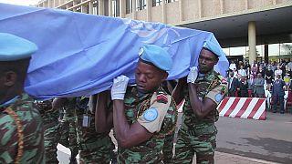 Mali : l'ONU salue la mémoire des sept Casques bleus guinéens tués