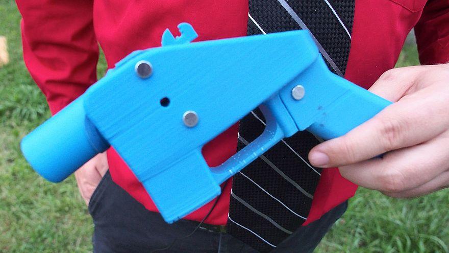 Image: 3-d Printed Gun