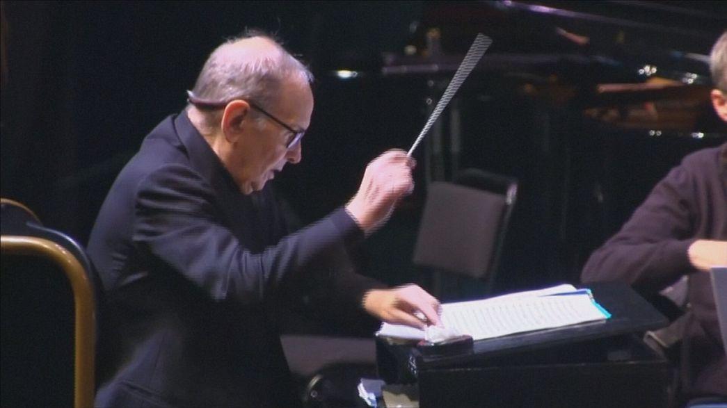 "Morricone picks up BAFTA on ""60 years of music"" tour"