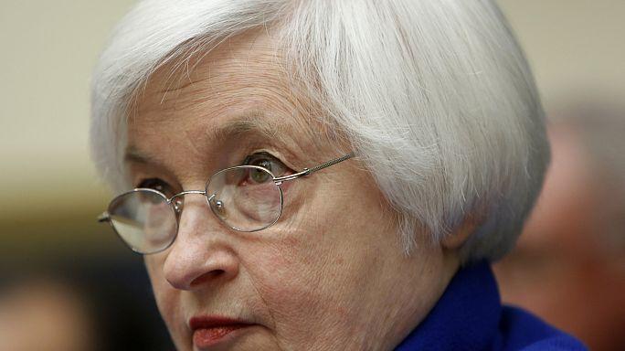Óvatosságra int a Fed a globális gazdasági bizonytalanság miatt