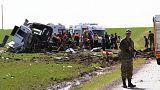 مقتل ستة من الجيش التركي في تفجير جنوب شرق تركيا