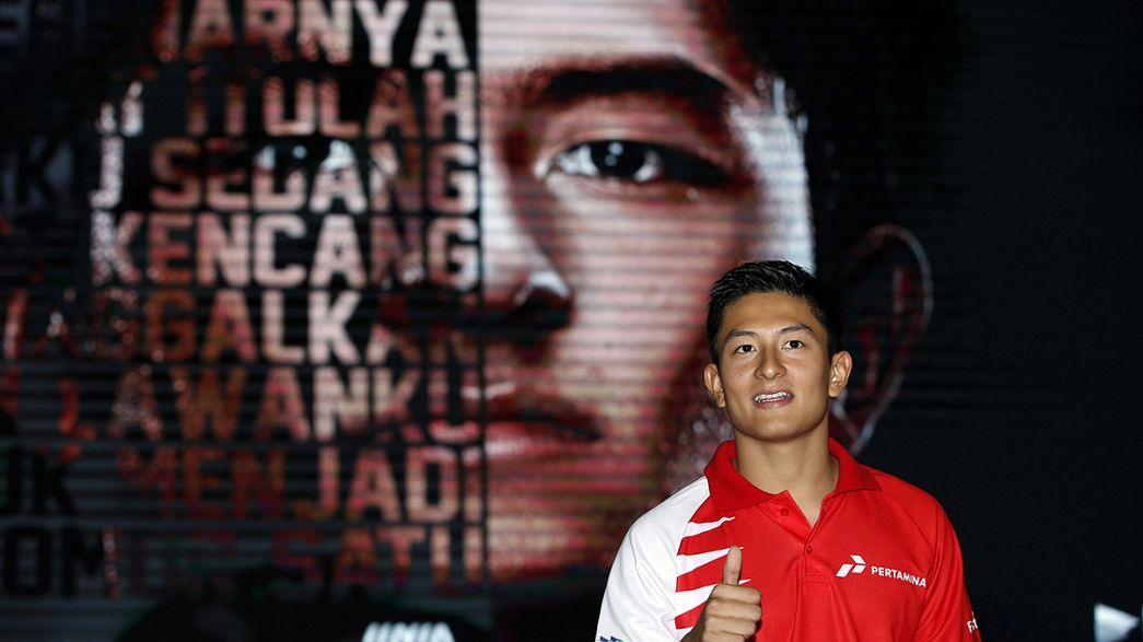 Llega el primer piloto de Indonesia a la Fórmula 1
