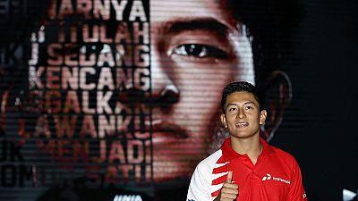 F1: indonesiano Rio Haryanto firma per la Manor