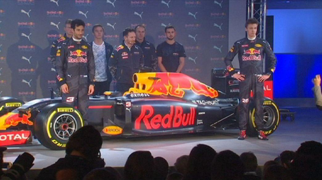 Red Bull Rennstall stellt neues Formel-1-Auto vor