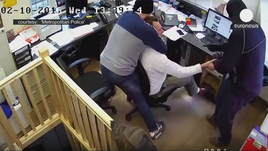 Watch: Robbers strangle man unconscious during Rolex raid