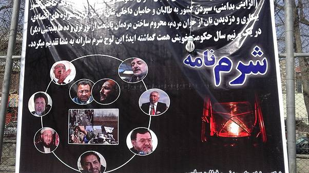 فعالان مدنی به حکومت وحدت ملی افغانستان شرم نامه اهدا کردند