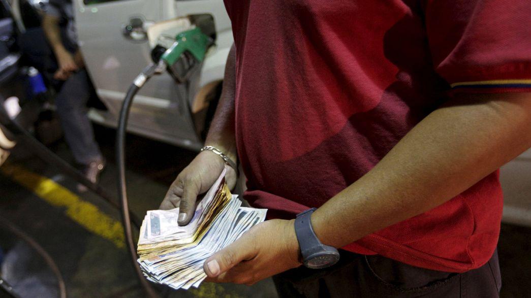 Venezuela: Sprit teurer, Währung abgewertet - 50 Liter Super für ein Bier
