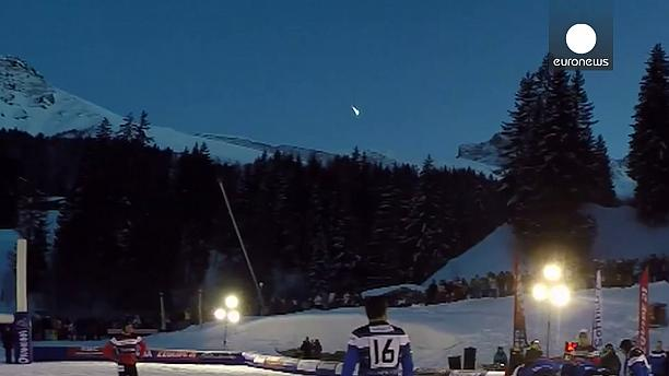 VIDEO: meteorito en los Alpes franceses