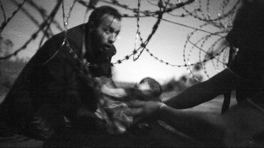 Фотоконкурс: главный приз - за снимок беженца