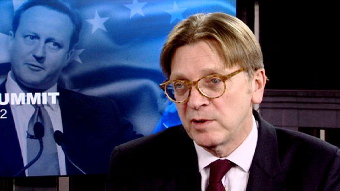 Guy Verhofstadt, leader dei liberali al Pe: la Gran Bretagna senza l'Ue è un nano a livello mondiale