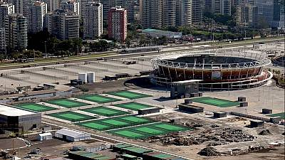 View of Olympic Park unveiled 170 days to Rio 2016