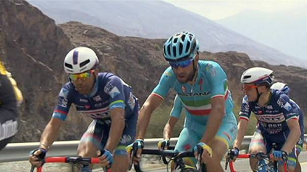 Tour of Oman: On-form Kristoff sprints to stage three victory