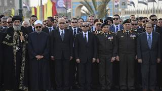 Egypt holds funeral for Boutros-Ghali