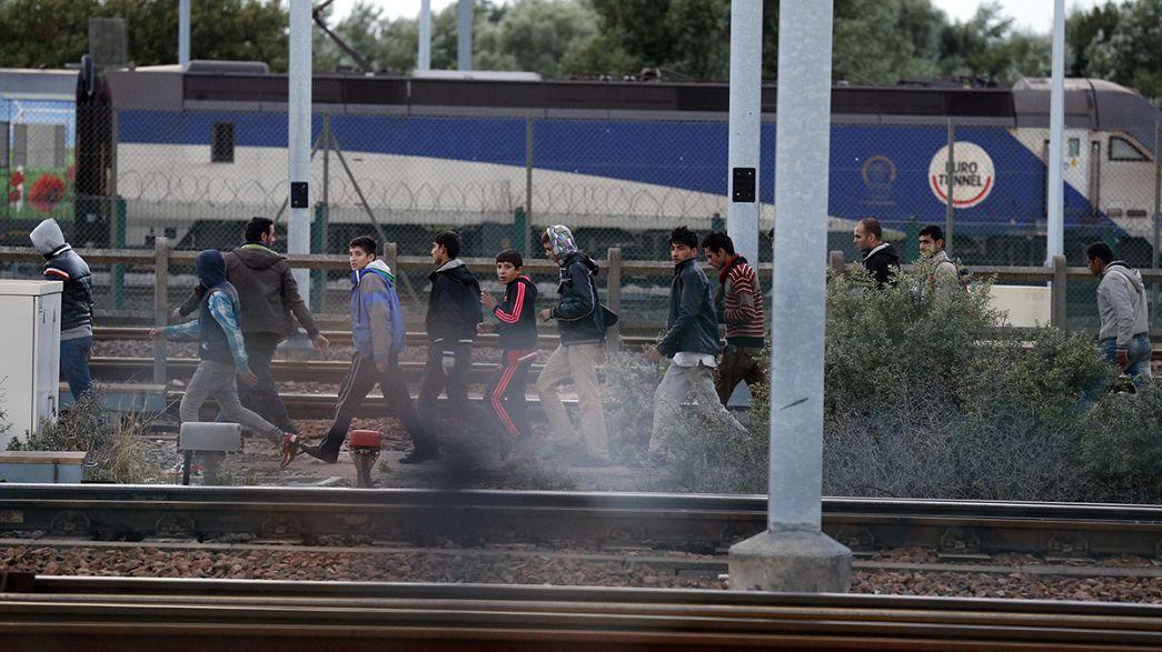 Reclamación millonaria de Eurotúnel por la crisis de los refugiados