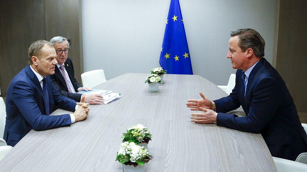 Pocos avances en el arranque de una cumbre decisiva para el futuro de la Unión Europea