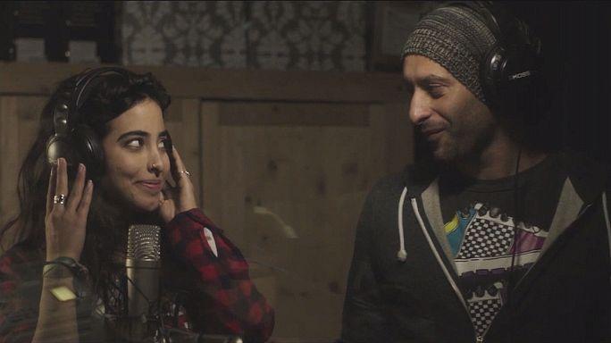 Junction 48: İsrail'de müziğin diliyle mücadele veren Filistinli bir çiftin hikayesi