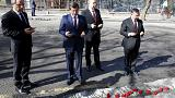 Ankara bombing: Turkish PM lays flowers at the scene