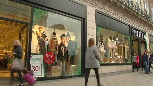 للمرة الاولى منذ سنتين ارتفاع في مبيعات التجزئة في بريطانيا