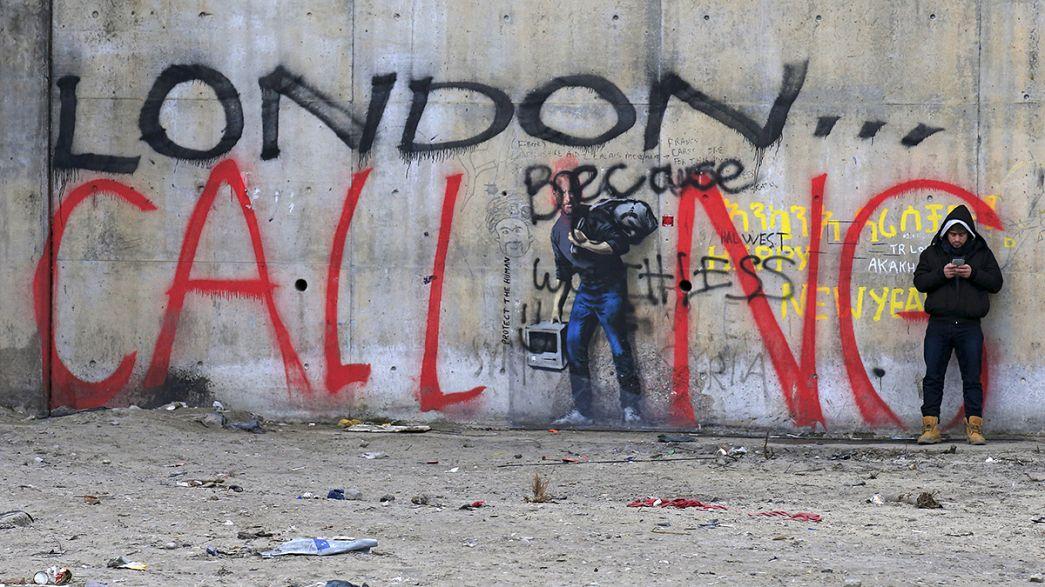 Helfer und Behörden streiten um den illegalen Dschungel von Calais