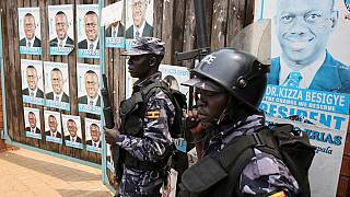 Uganda Elections: Besigye arrested again as police fire tear gas at his supporters