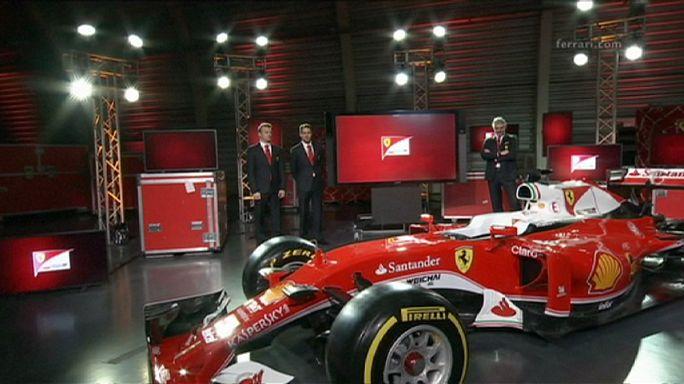 A Ferrari a régi időket idézi