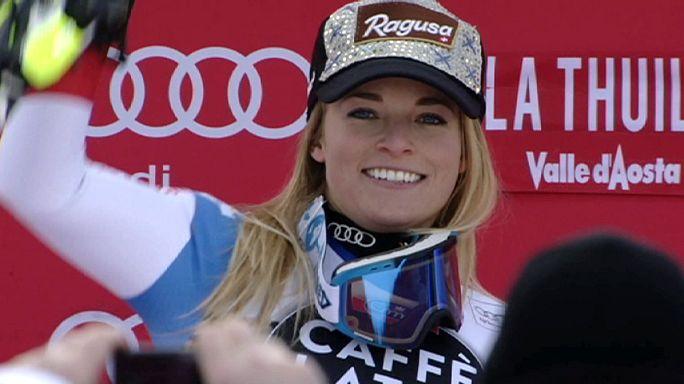 Αλπικό Σκι: Διπλή νίκη για την Λάρα Γκουτ στην Ιταλία