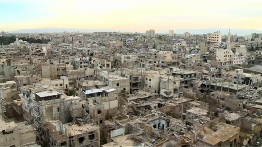 Trümmerfeld Heimat: Syrer kehren langsam nach Homs zurück